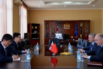 Meeting with the Ambassador of the People's Republic of China