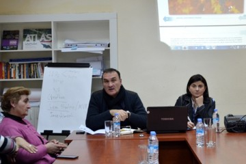 Meeting at the Centre for Civic Engagement of Telavi