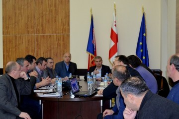 Governor's working meeting with the Heads of Municipality Boards